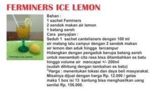 Ferminers Ice Lemon