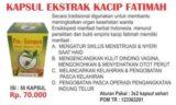 Kapsul Ekstrak Kacip Fatimah